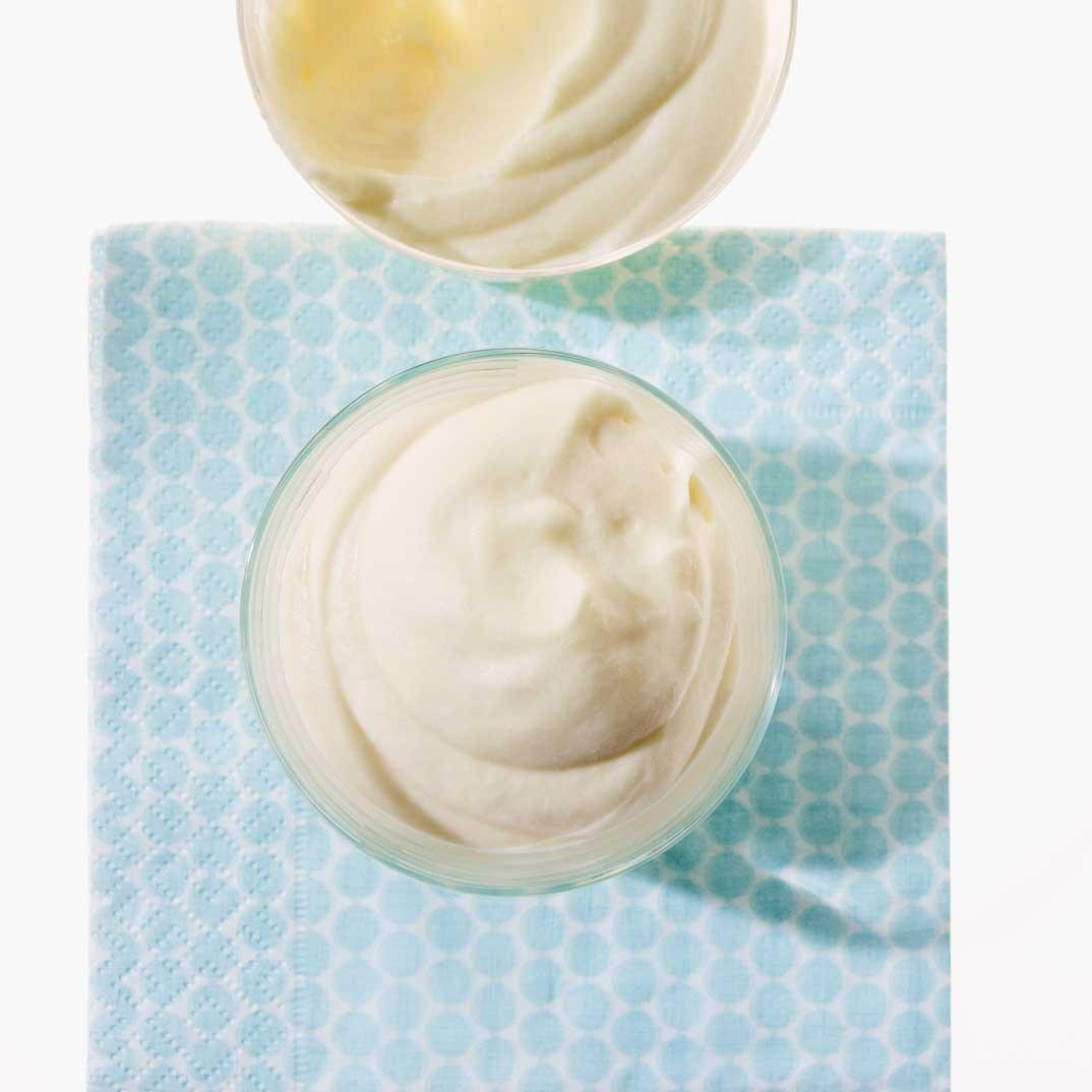 Mousse au lait d'amandes
