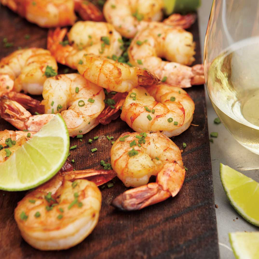 Maple Plank Cajun Shrimp