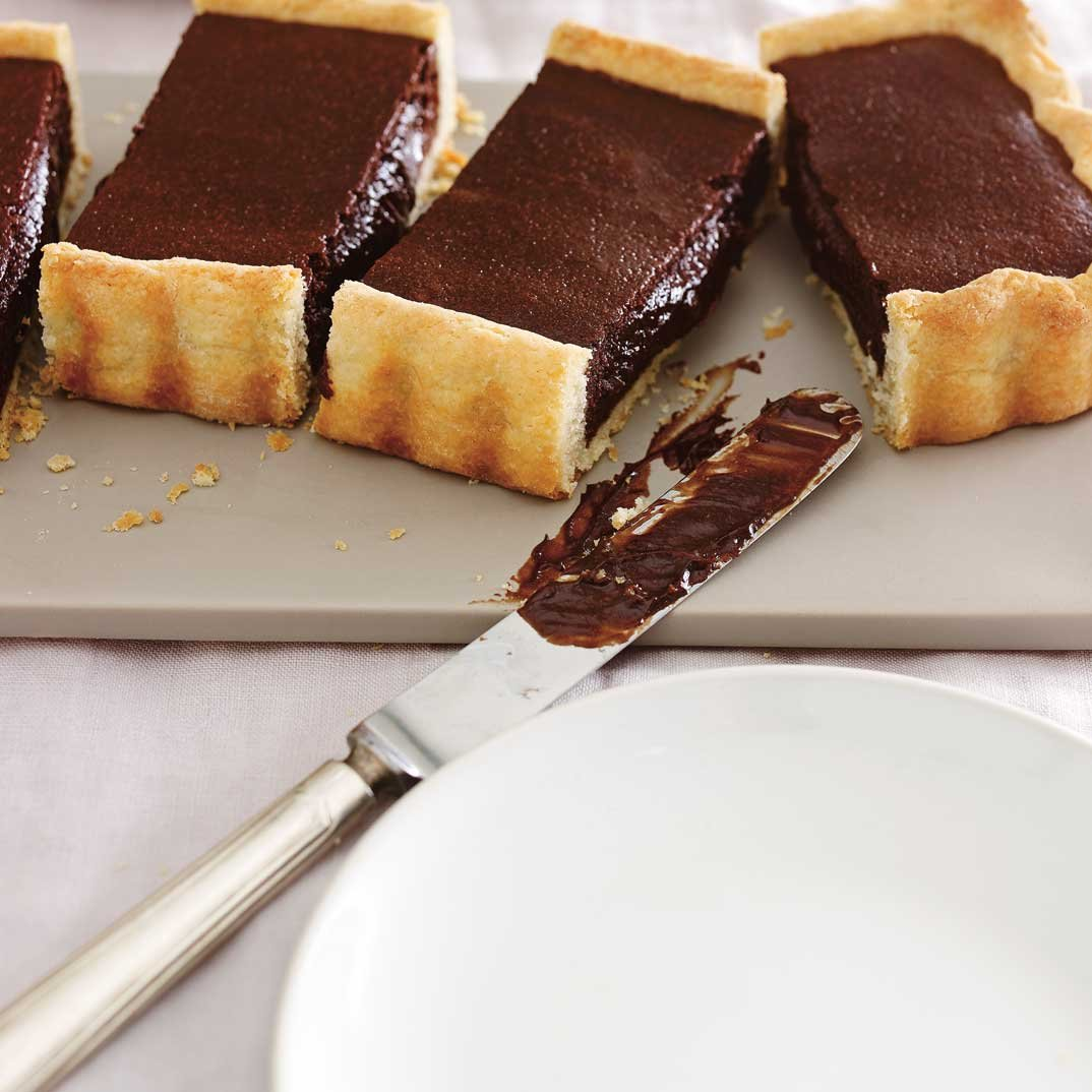 Warm Chocolate Tart