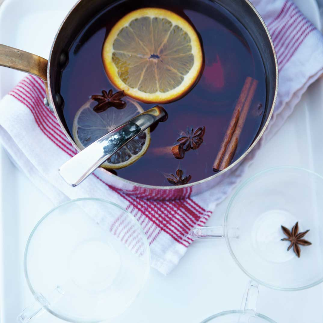 Mulled Spiced Cranberry Juice