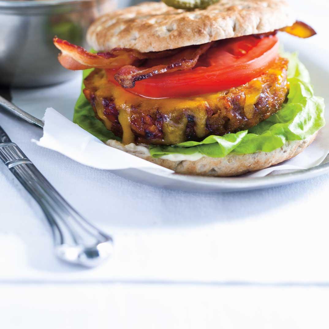 Winter Meatloaf Burger