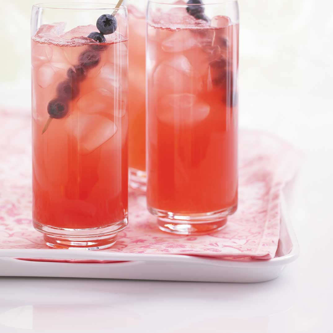 « Limonade » à la rhubarbe