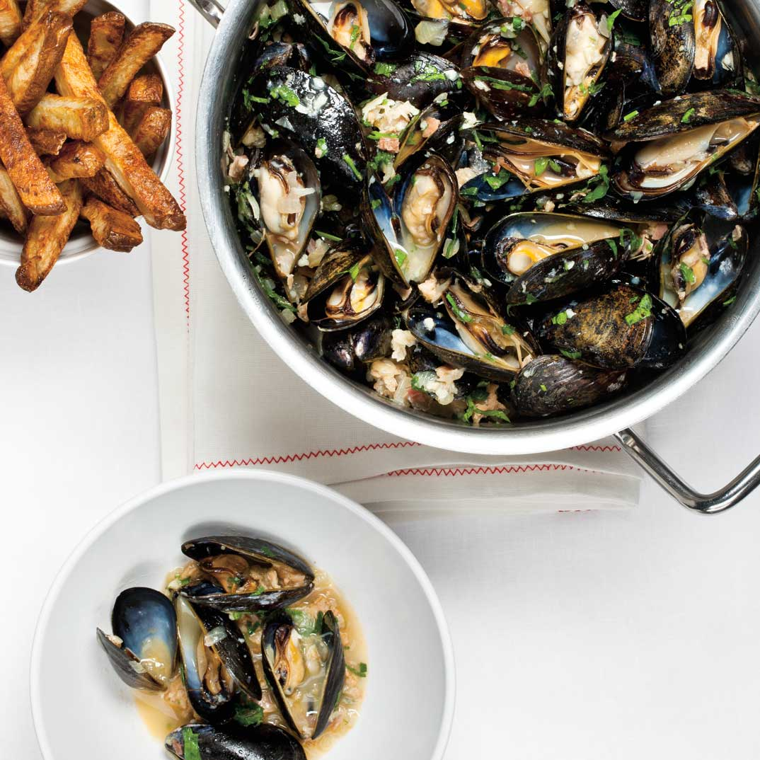 Mussels with Sausage