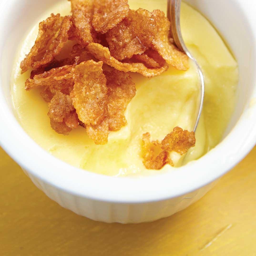 <i>Crema</i> de maïs