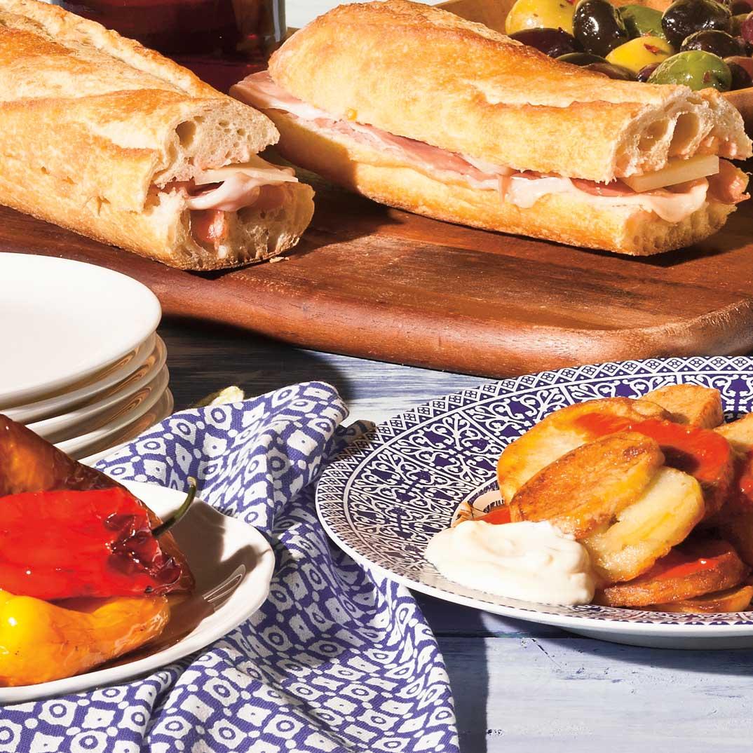 <i>Bocadillos</i> (sandwichs espagnols)