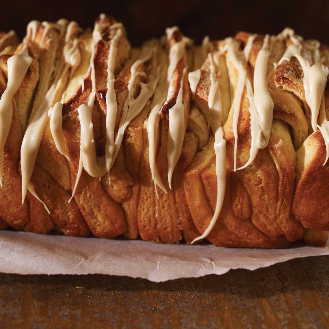 Maple Pull-Apart Bread