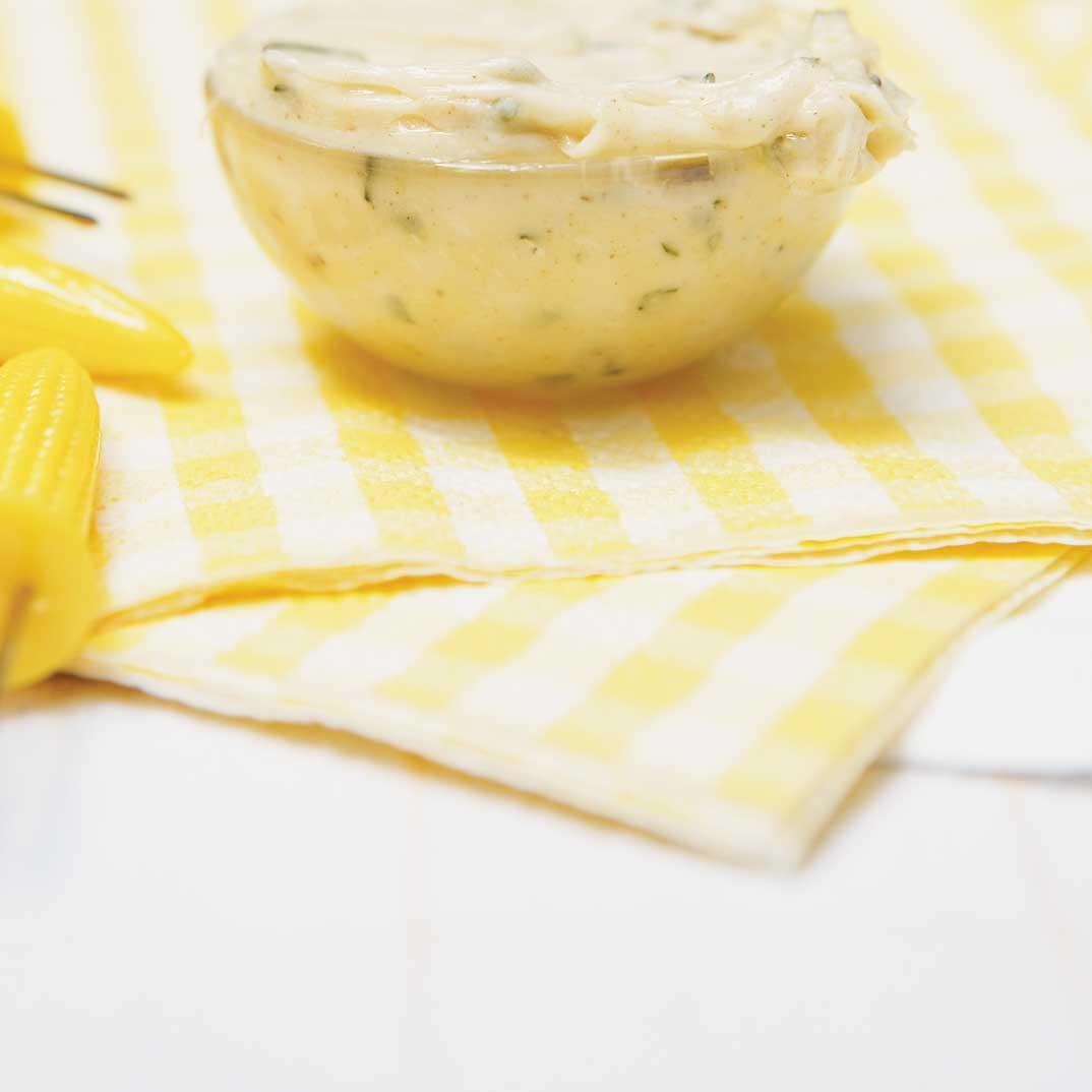 Beurre noisette à l'estragon
