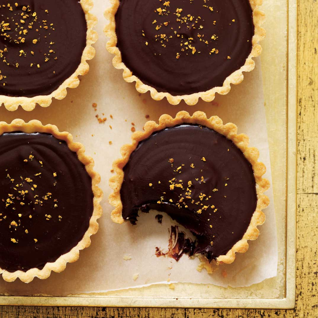 Honey and Chocolate Tartlets