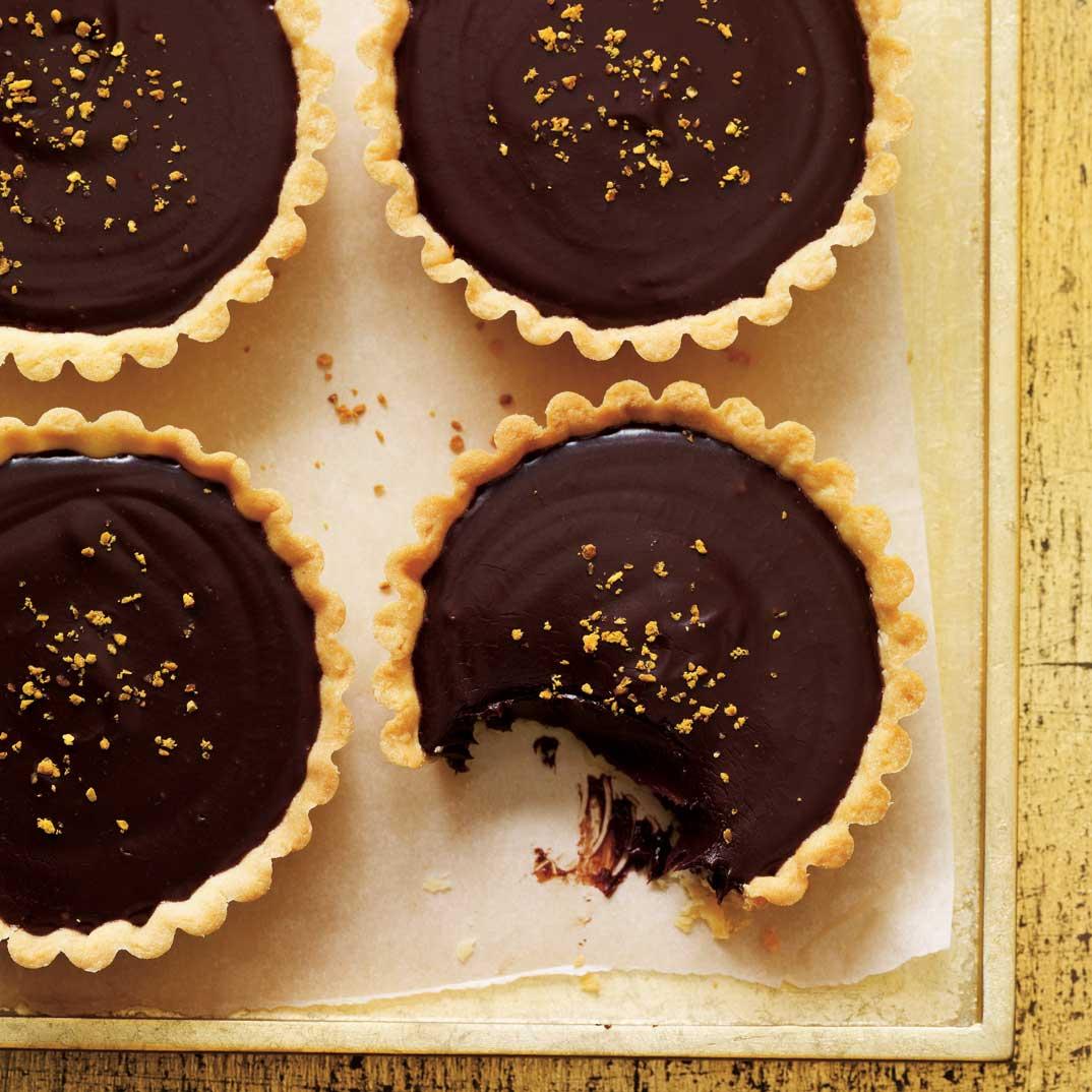 Tartelettes Au Chocolat Et Au Miel