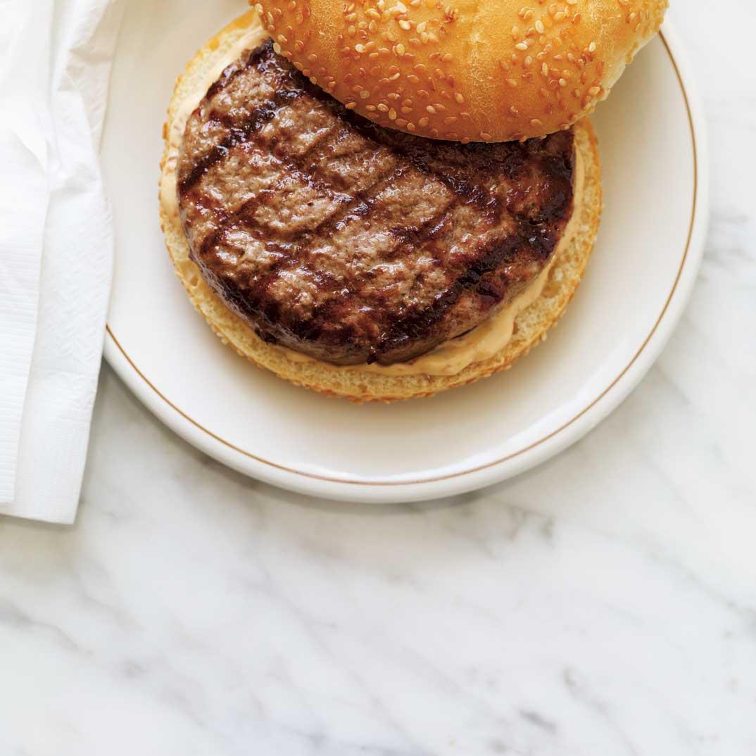 Jalapeño-Stuffed Burgers