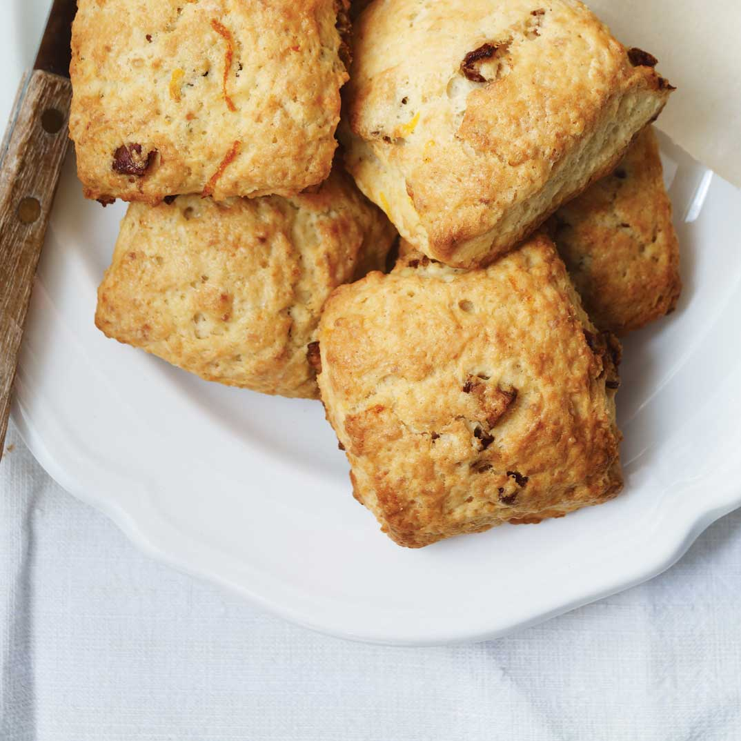 Date and Clementine Scones