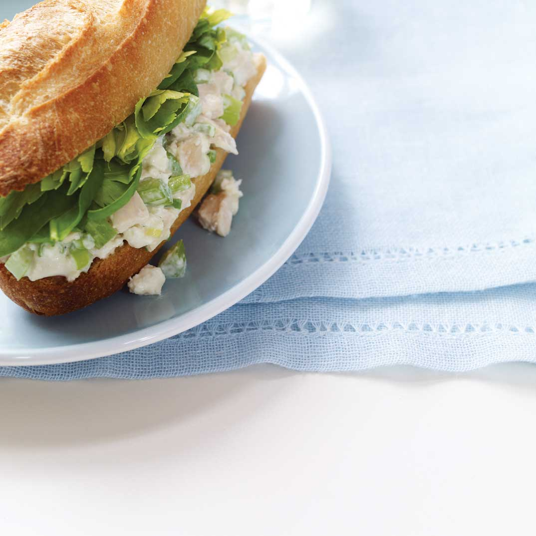 Revisited Chicken Salad Sandwiches