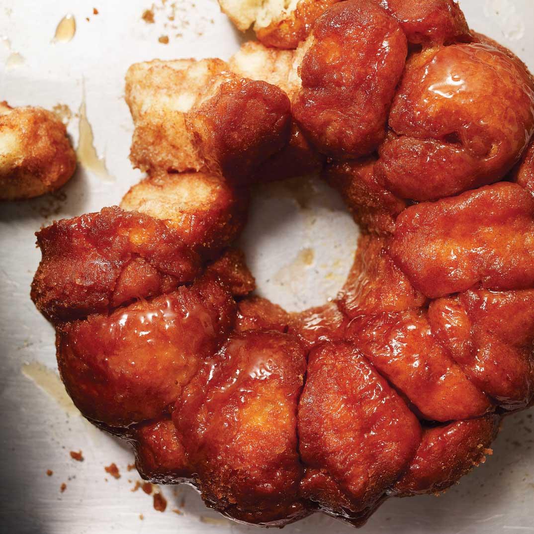 <i>Monkey Bread</i> (brioché au caramel)