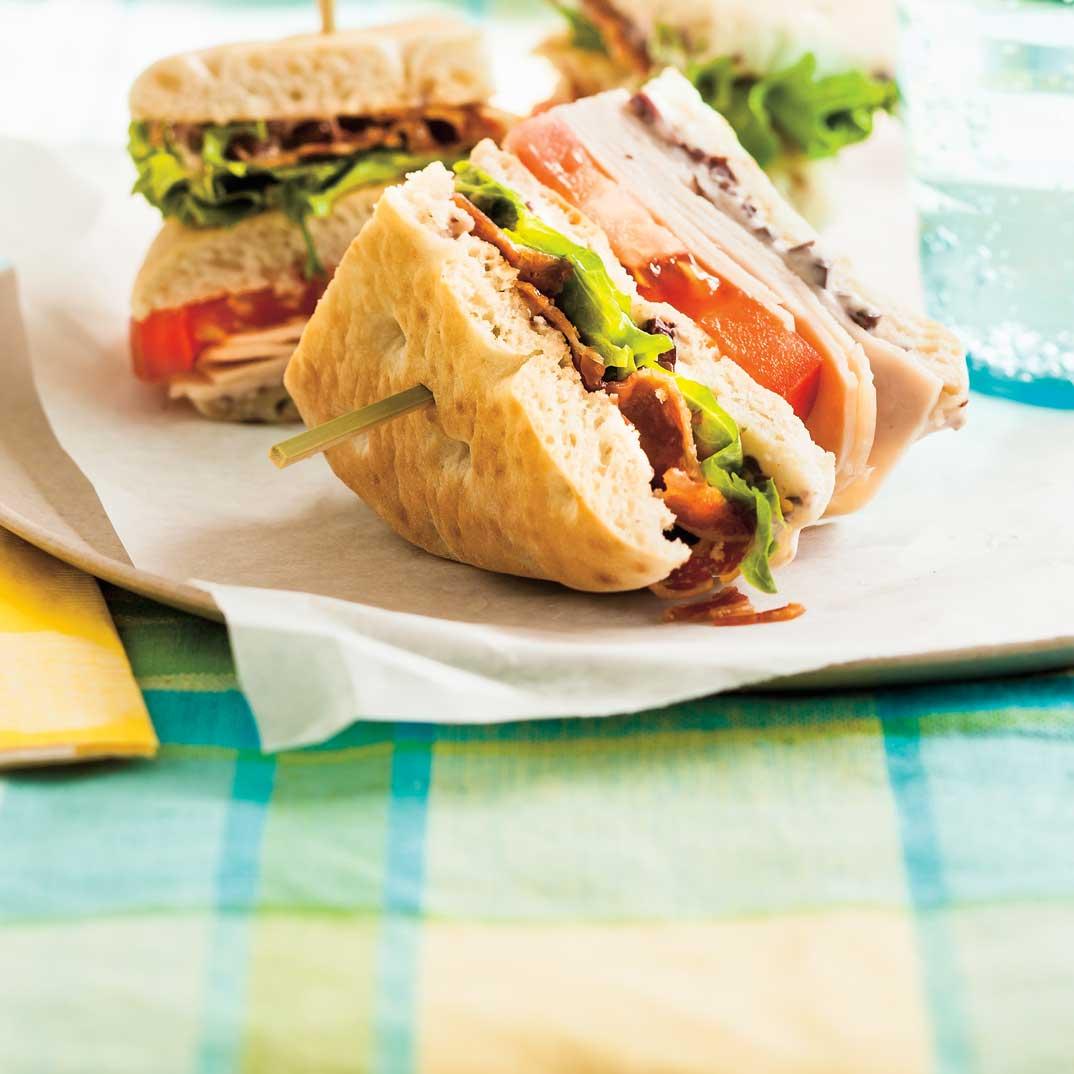 Club sandwich réinventé