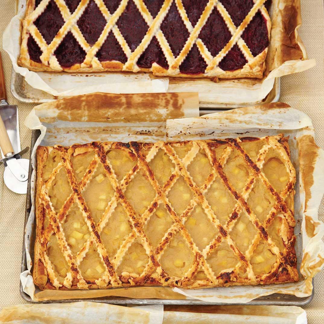 Blueberry or Raspberry Pastry « Trottoir »