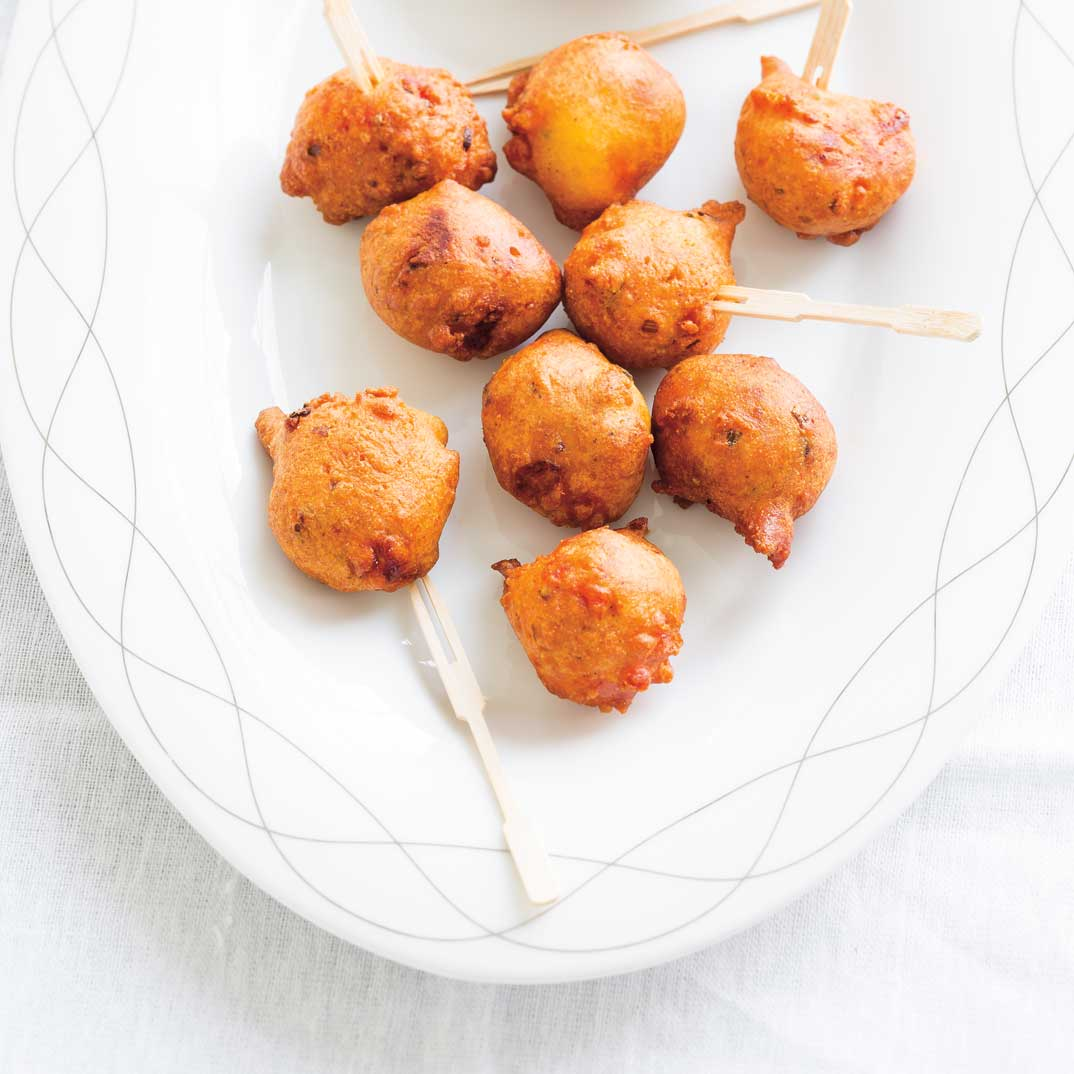 Mini Merguez Corn Dogs