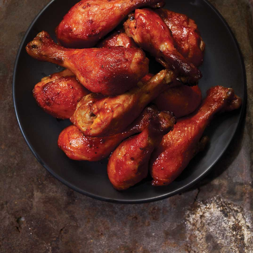 Maple-Glazed Chicken  Drumsticks