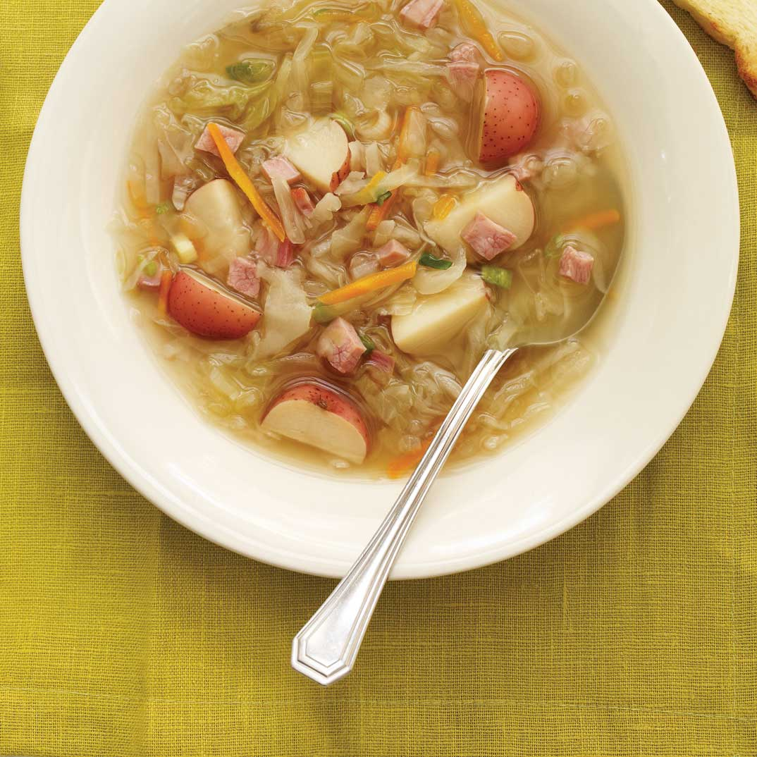 Cabbage and Ham Soup