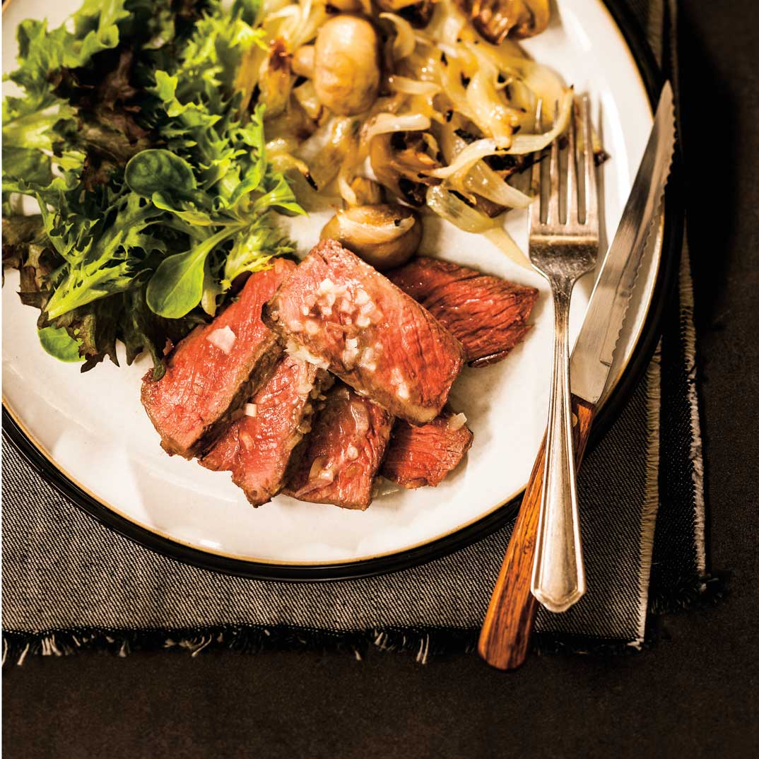 Bordeaux-Style Broiled Striploin