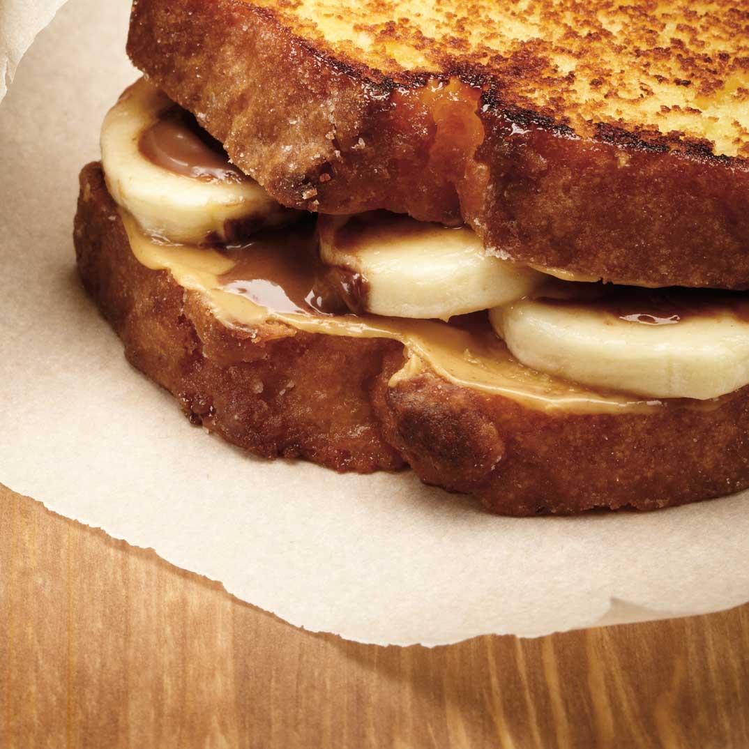 Sandwichs choco-banane