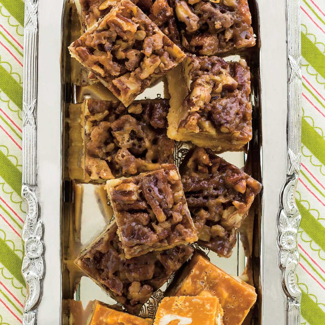 Fudge au caramel et aux noix
