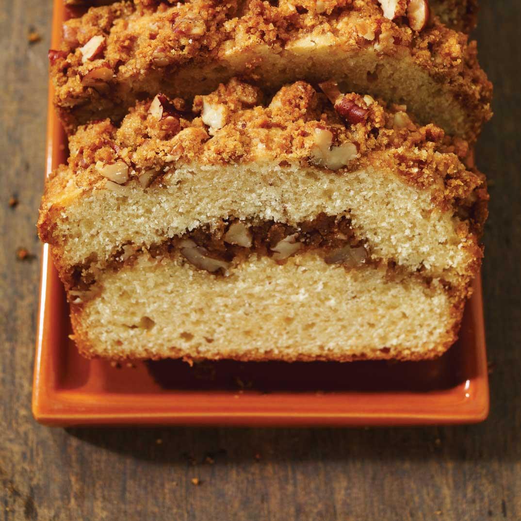 Pecan and Graham Cracker Tea Cake