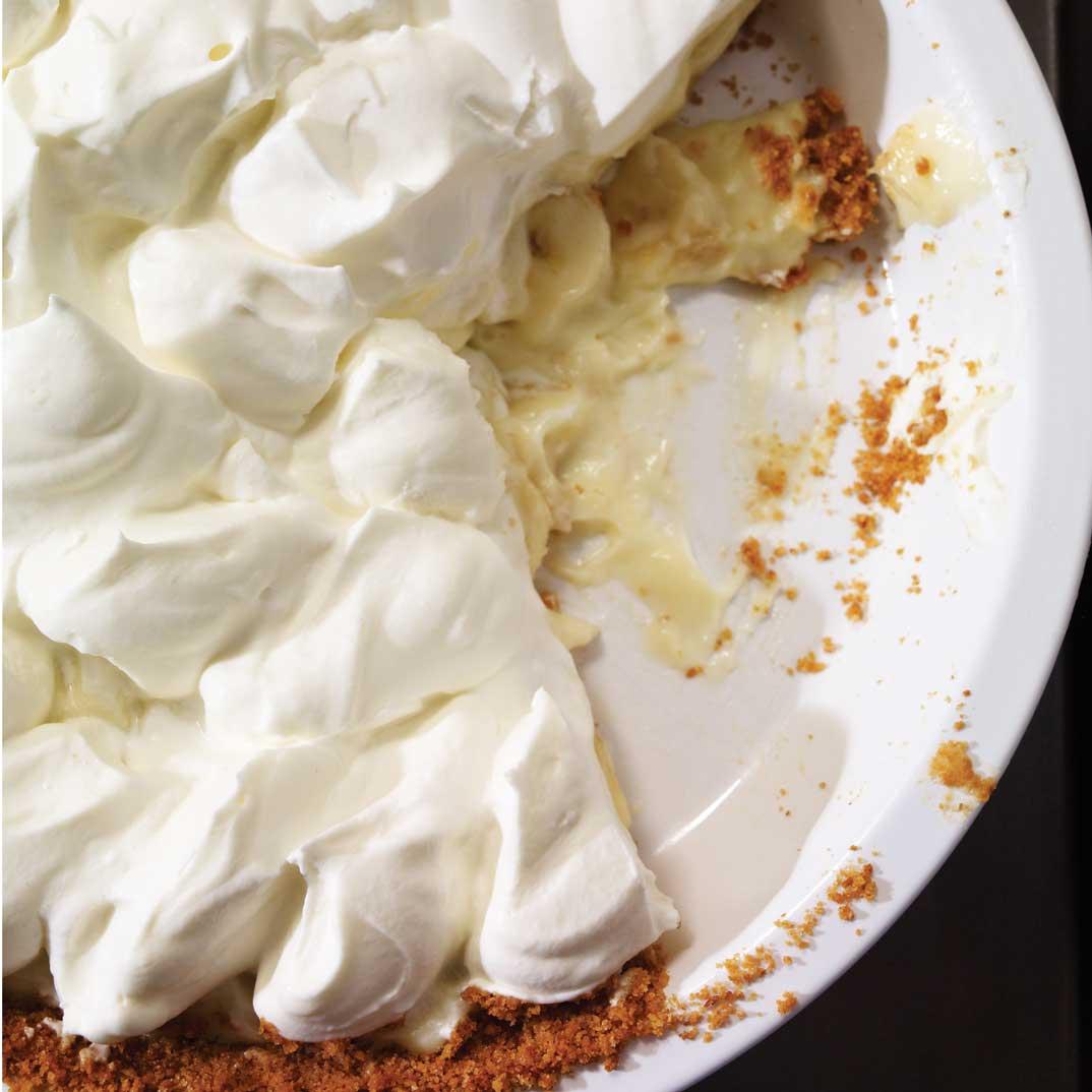 Tarte à la banane et à la crème (Banana Cream Pie)