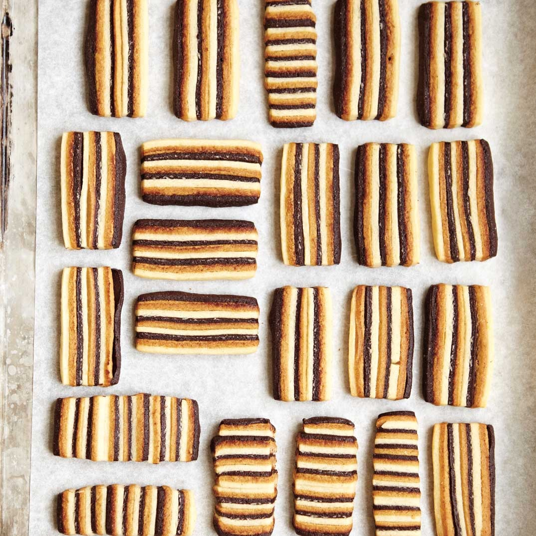 Biscuits trois saveurs
