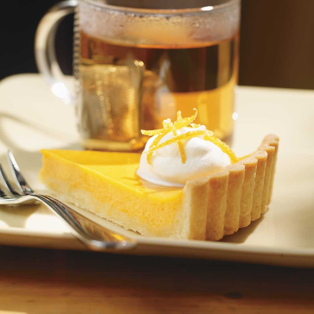 Orange and Pumpkin Tart
