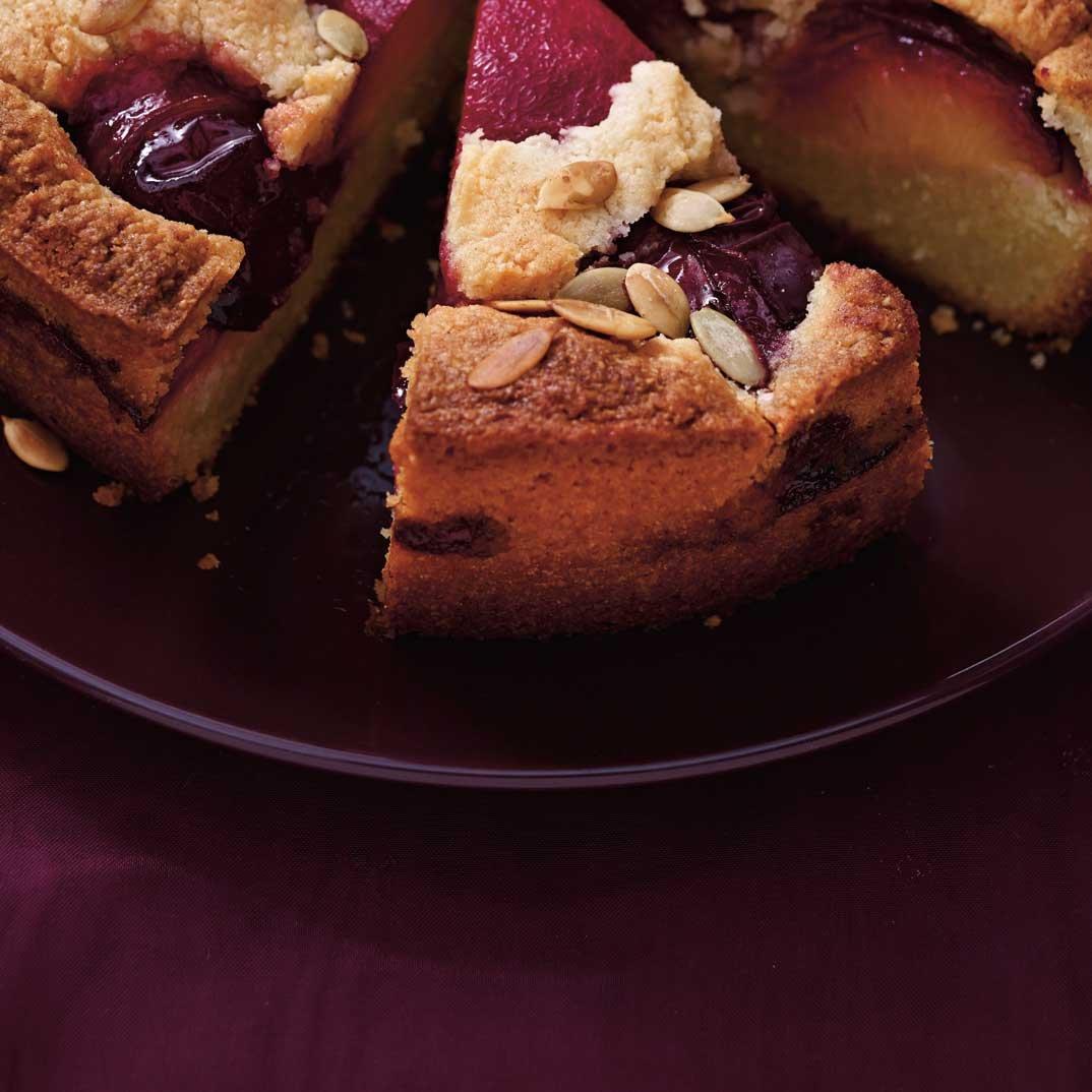 Plum Frangipane Cake