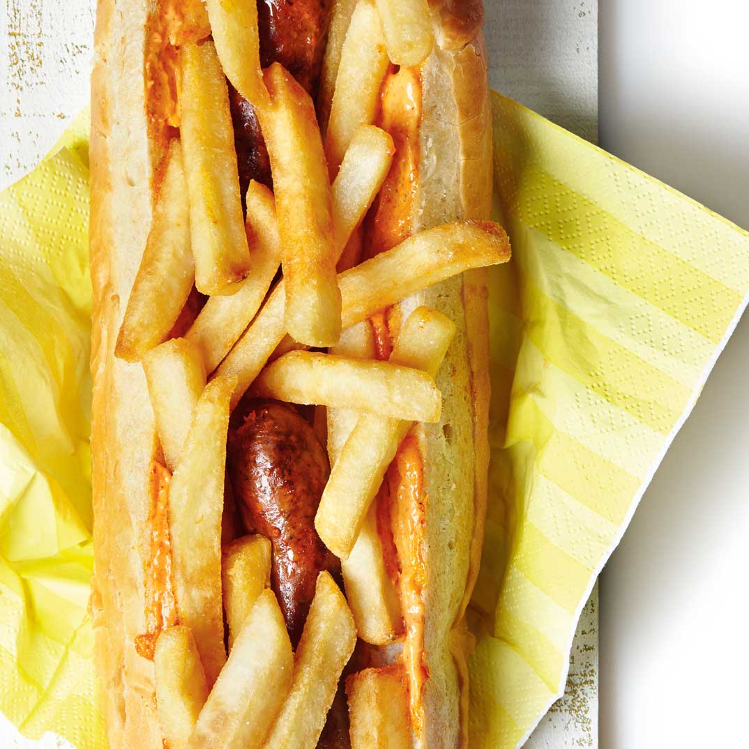 Hot-dog belge