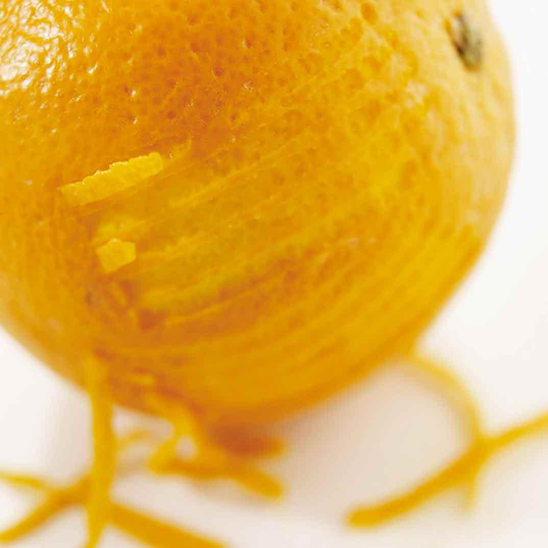 Crème fraîche à l'orange