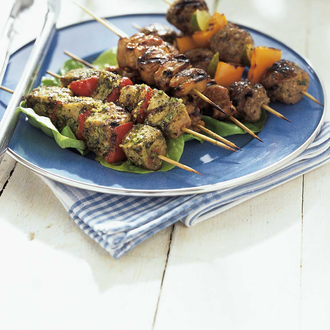 Asian-Style Chicken Skewers