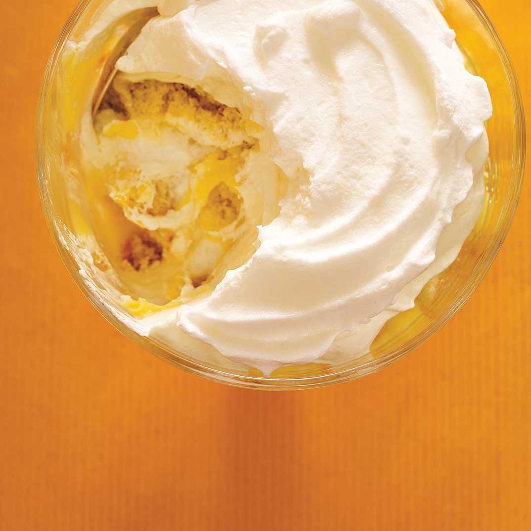 Lemon Meringue Trifle