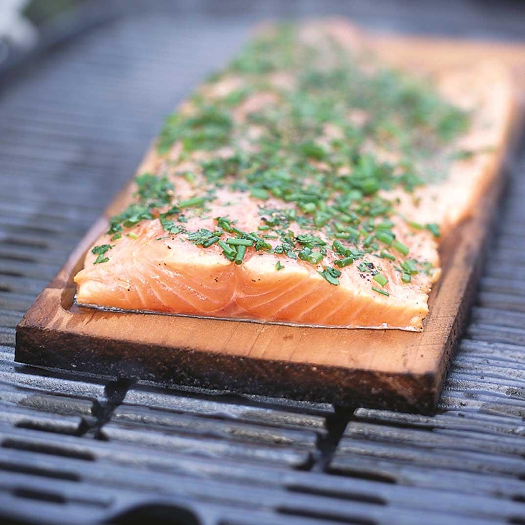 Planked Salmon