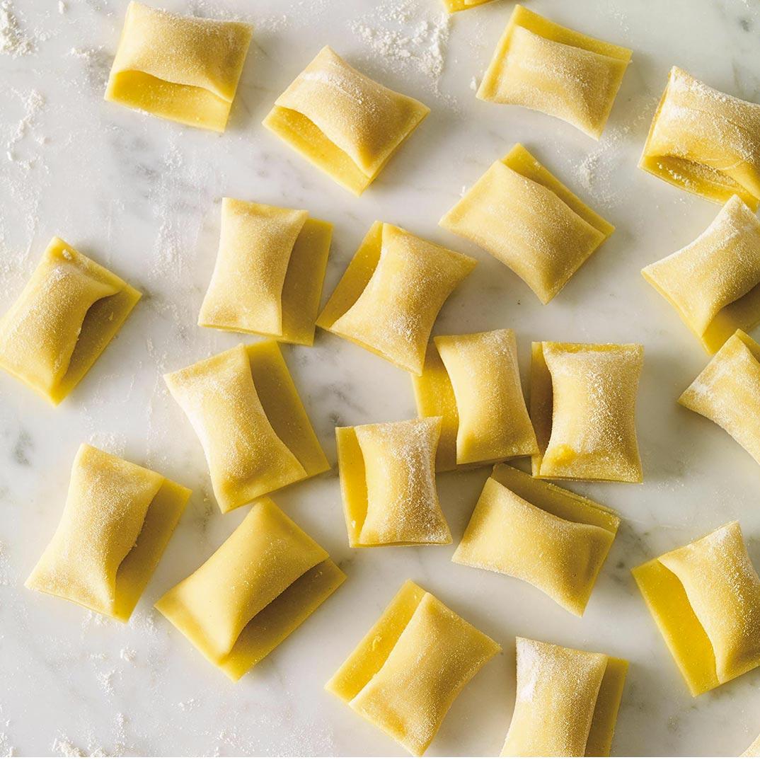 Pâte fraîche aux jaunes d'œufs