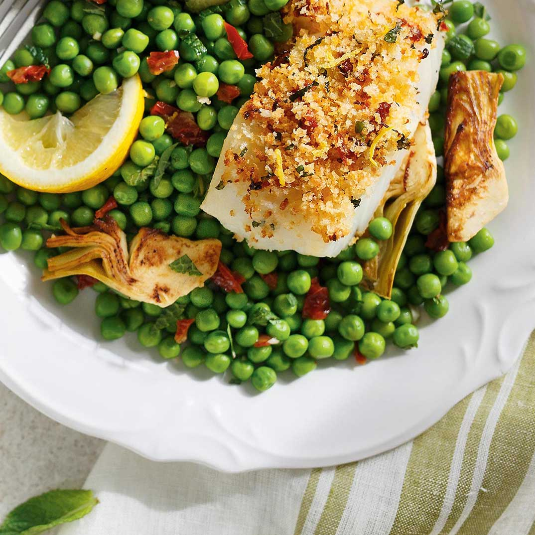 Sun-Dried Tomato and Lemon Baked Fish