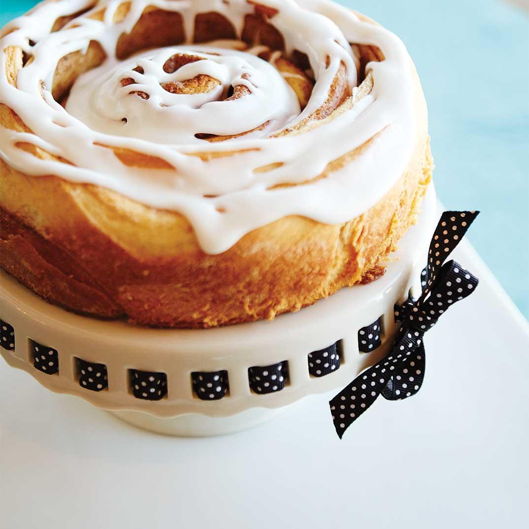 Gâteau brioche à la cannelle