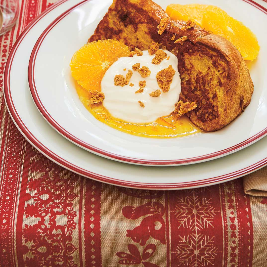 Panettone façon pain doré