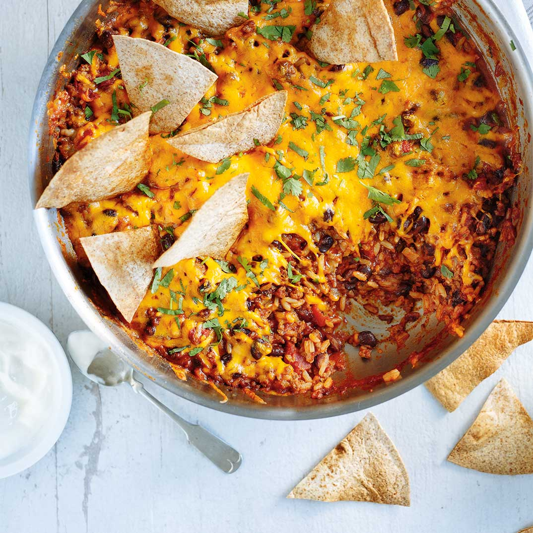 One-Pot Burrito Casserole