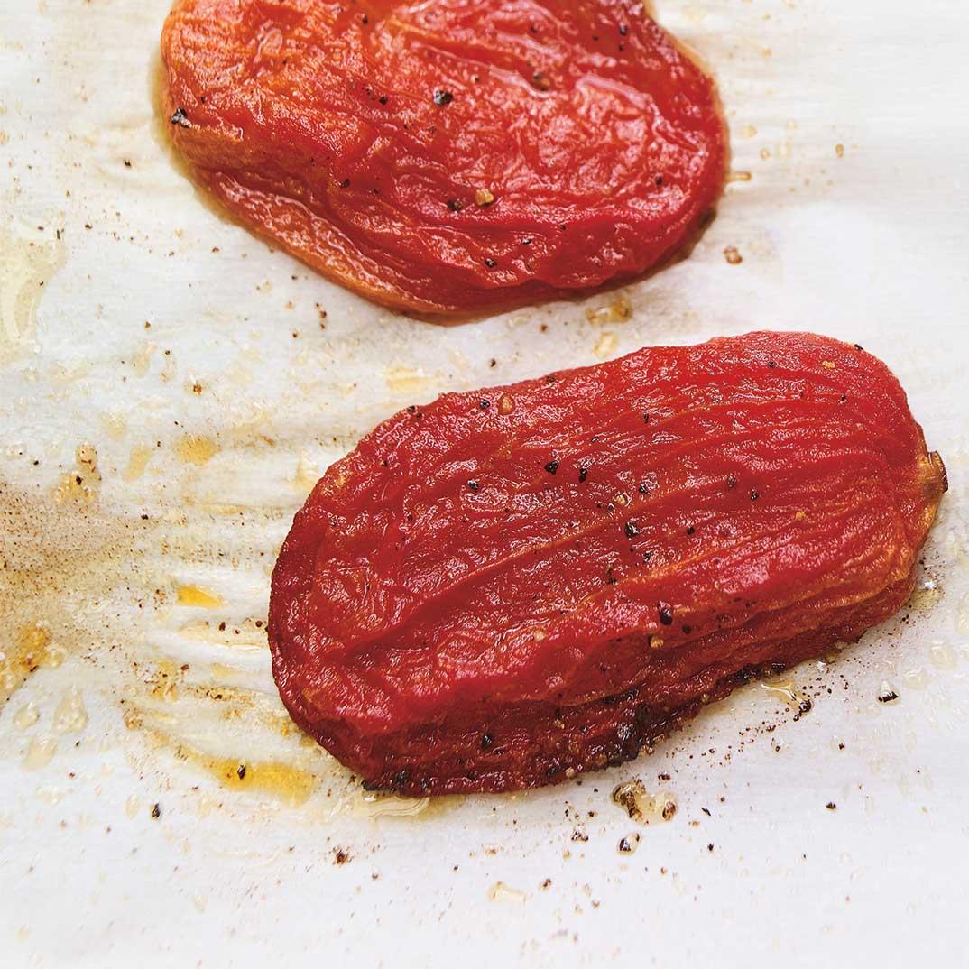Tomates en conserve confites