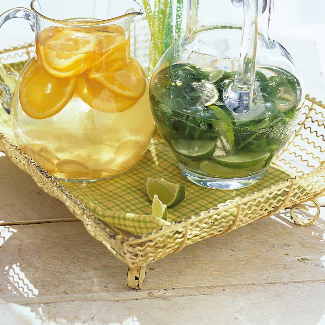 Orange-Ginger Water