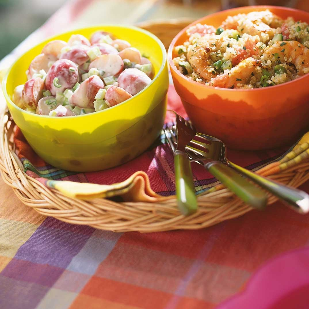 Quinoa and Shrimp Salad