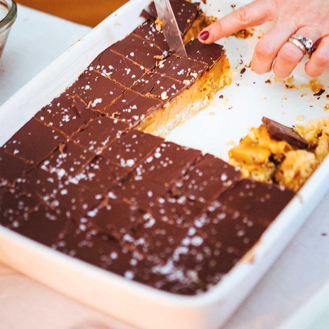 Chocolate Caramel Squares
