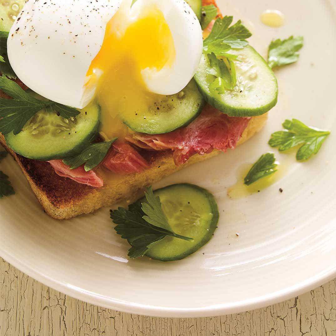 Ham and Egg Toast