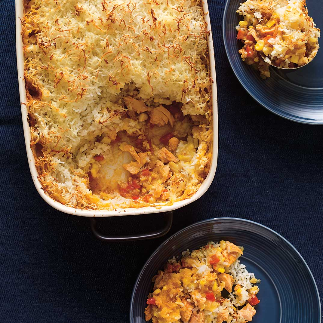 Salmon Shepherd's Pie