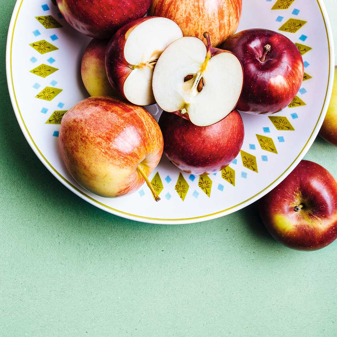Compote de pommes au four