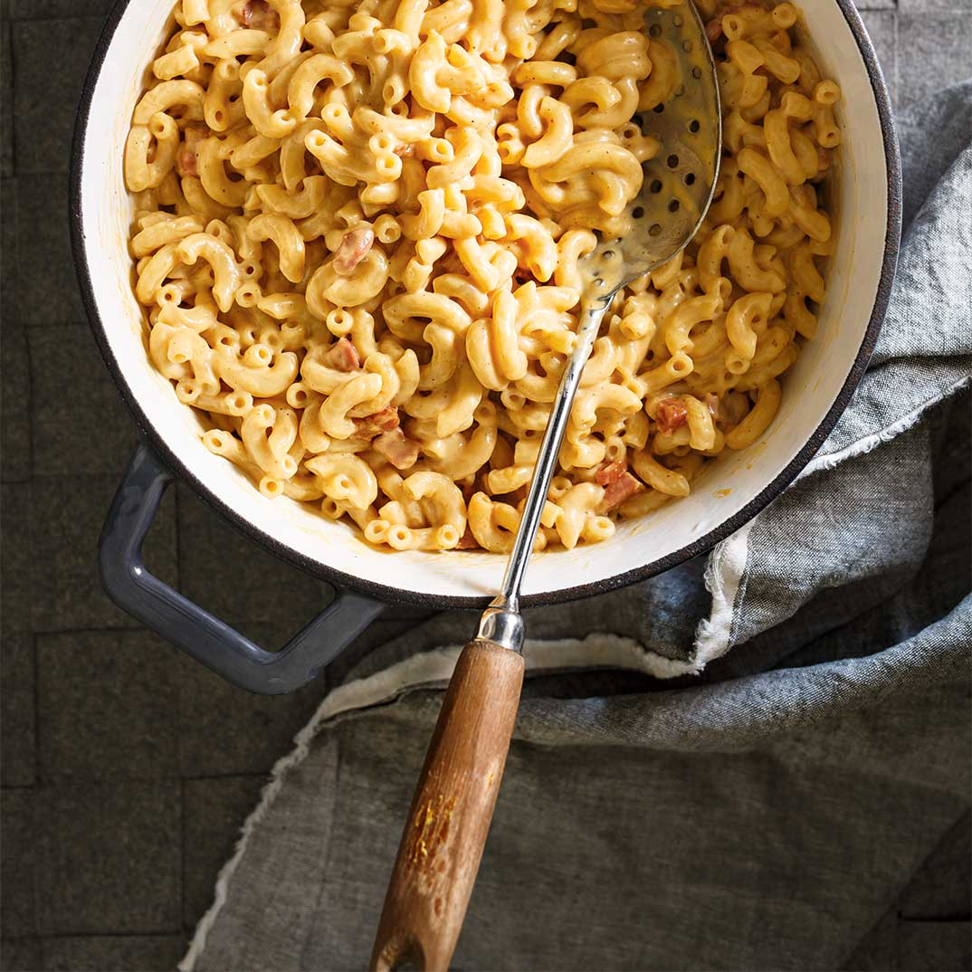 Macaroni au fromage one pot