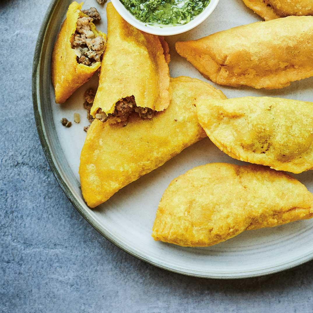 <i>Empanadas</i> à la colombienne
