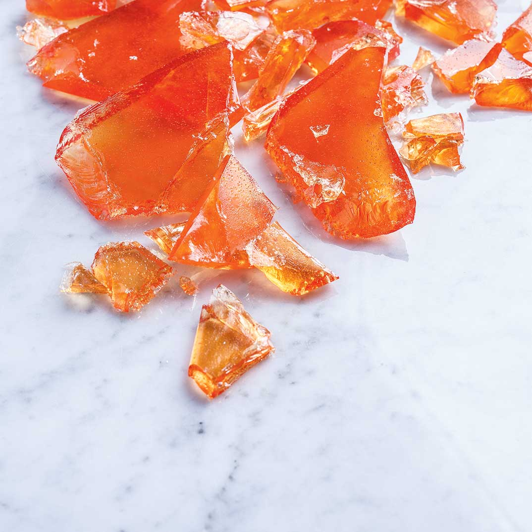Orange Glass Candy